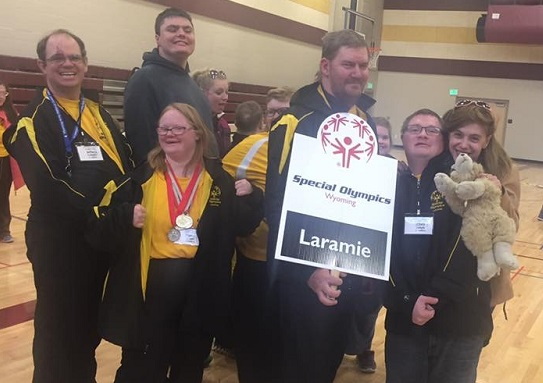 Laramie Team with banner cropped