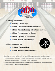Virtual Bowling Tournament 2020 Schedule